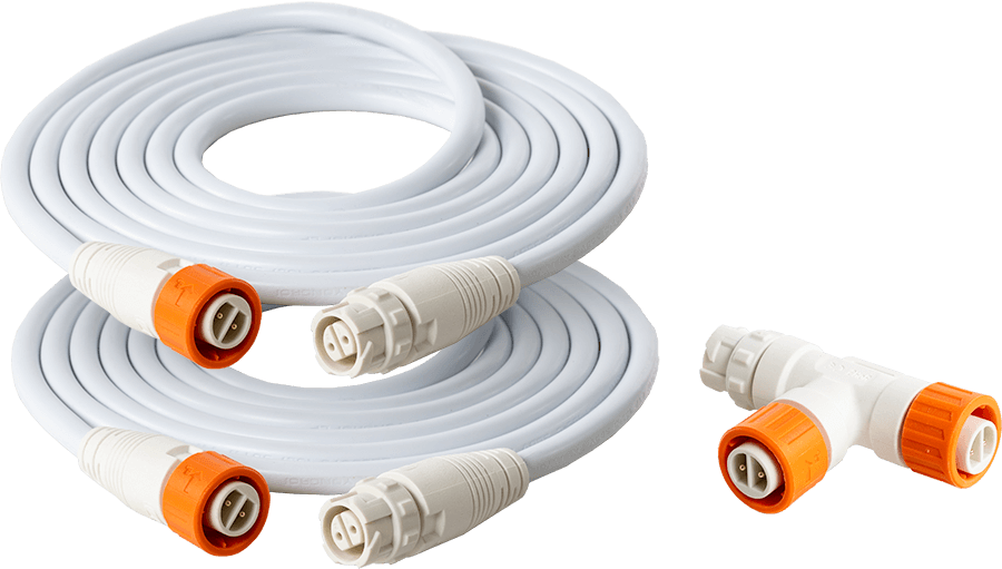 PHOTO•LOC 0-10V Control Cable Kit (White)